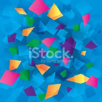 Colorful abstract background with rectangles