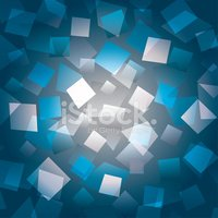 Colorful abstract background with different rectangles