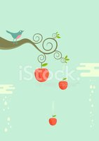 Apple - Fruit,Tree,Bird,Bra...