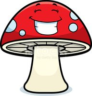 Mushroom,Magic,Red,Spotted,...