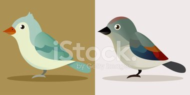 Bird,Ilustration,Small,Sing...