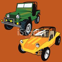 Jeep,Beach Buggy,Off-Road V...