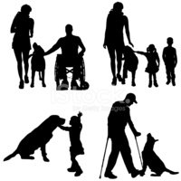 Dog,Walking,Child,Nature,Ve...