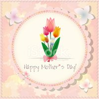 Happy Mother`s Day background or card