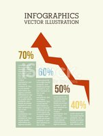Infographic,Percentage Sign...