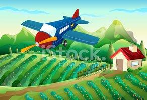 Agriculture,Mid-Air,Crop,P...