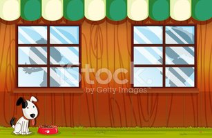 Window,Striped,House,sides,...