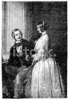 Victoria I,Engraved Image,P...