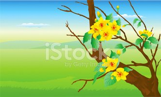 Meadow,Scenics,Vector,Flowe...