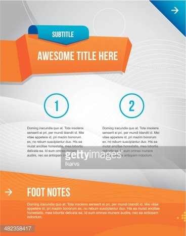 Modern and simple multipurpose graphic design template