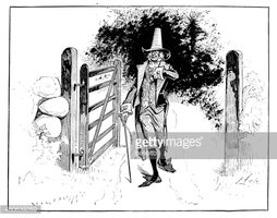 Old Man By The Gate