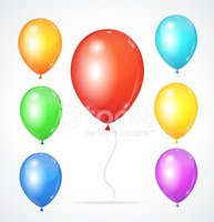 Birthday,Balloon,Traditiona...