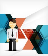 Business,Geometric Shape,Ab...