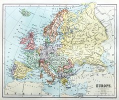 Map,Cartography,Europe,Hist...