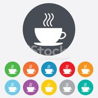 Saucer,Cup,Token,Shape,Labe...