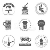 Symbol,Cafe,Silhouette,Cup,...