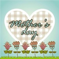 Mothers Day,Flower,Heart Sh...