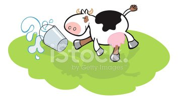 Cow,Milk,Cartoon,Farm,Bucke...