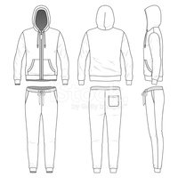Outline,Hooded Shirt,Clothi...