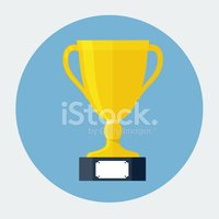 Trophy,Flat,Yellow,Award,Sk...