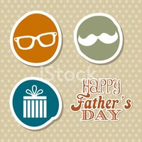 Gift,Father,Mustache,Label,...