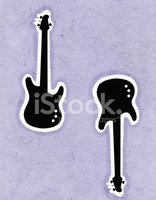 Guitar,Ilustration,Abstract...