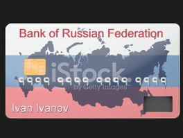 Russia,Credit Card,Coin Ban...