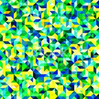 Mosaic,Blue,Abstract,Backgr...