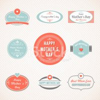 Mothers Day,Mother,Retro Re...