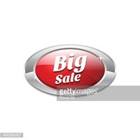Glossy Shiny Big Sale Button stock vectors - Clipart me
