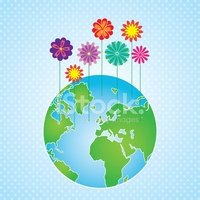 Water,Flower,Land,Planet - ...