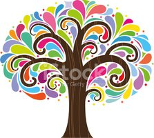 Tree,1960s Style,Psychedeli...