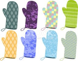 Quilted,Protective Glove,Ch...