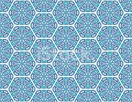 Seamless ornamental oriental pattern