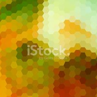 Pixelated,Mosaic,Orange Col...