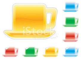Tea - Hot Drink,Icon Set,Mo...