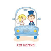 Just Married,Engagement,Vec...