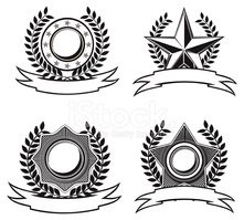Star - Space,Military,Badge...