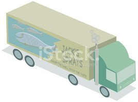 Truck,Transportation,Fish,D...
