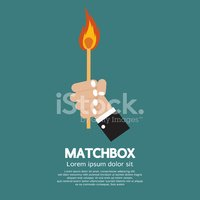 Flame,Matchstick,Abstract,M...