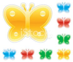Butterfly - Insect,Icon Set...