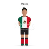 Mexico,Soccer,Flag,Flat,Eve...