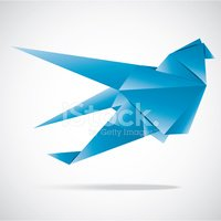 Vector Abstract Origami Background