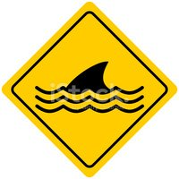 Shark,Animal Fin,Warning Sy...