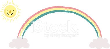 The view of rainbow