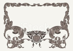 Frame,Old-fashioned,Baroque...