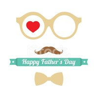 Father,Day,Symbol,Eyeglasse...