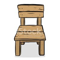 Cartoon,Chair,Wood - Materi...