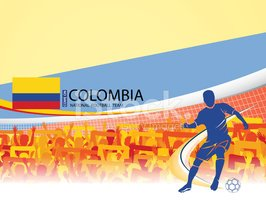 Colombia,Crowd,Spectator,Br...