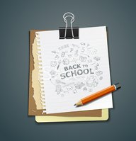 Education,Sign,Note Pad,Whi...